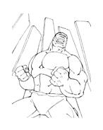 Hulk da colorare 170