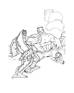 Hulk da colorare 172