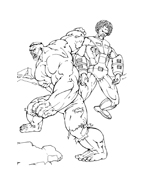 Hulk da colorare 178