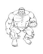 Hulk da colorare 181