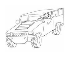 Automobile da colorare 278