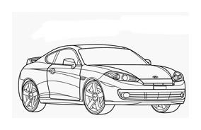 Automobile da colorare 284