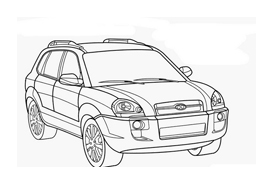 Automobile da colorare 285
