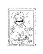 I Rugrats da colorare 4