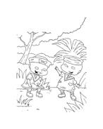 I Rugrats da colorare 26