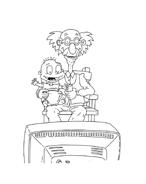 I Rugrats da colorare 43