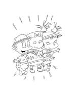 I Rugrats da colorare 47