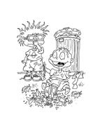 I Rugrats da colorare 89