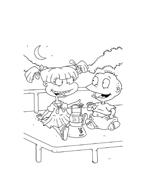 I Rugrats da colorare 97
