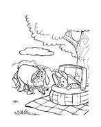 Winnie pooh da colorare 10