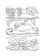 Il libro della giungla da colorare 36
