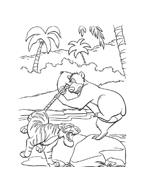 Il libro della giungla da colorare 50