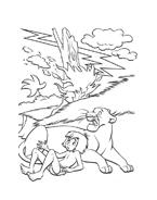 Il libro della giungla da colorare 52