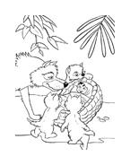 Il libro della giungla da colorare 63