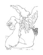 Il libro della giungla da colorare 70