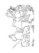 Il libro della giungla da colorare 71