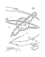 il pianeta del tesoro da colorare 2