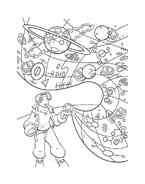 il pianeta del tesoro da colorare 10