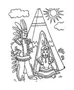 Indiani da colorare 49