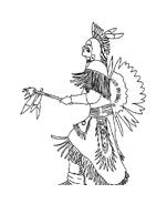 Indiani da colorare 31