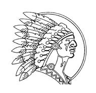 Indiani da colorare 42