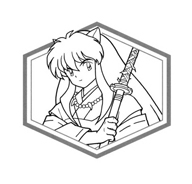 Inuyasha da colorare 18