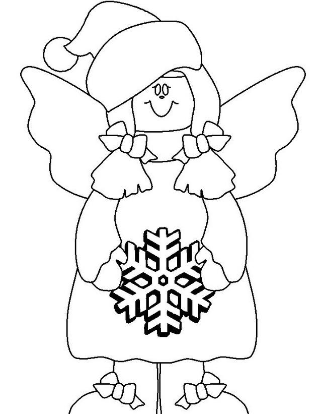 Inverno da colorare 7
