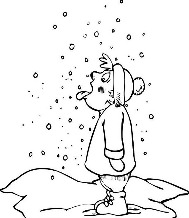 Inverno da colorare 52