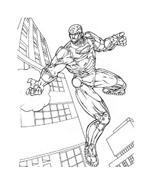 Iron man da colorare 3