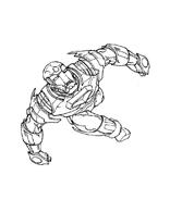 Iron man da colorare 13