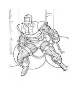 Iron man da colorare 15