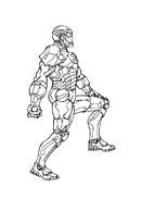 Iron man da colorare 18