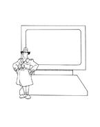 Ispettore gadget da colorare 5