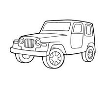 Automobile da colorare 292