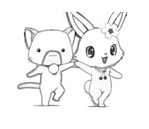 Jewelpet da colorare 3