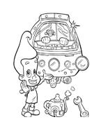 Jimmy neutron da colorare 43