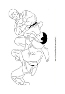 Judo da colorare 15