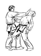 Judo da colorare 21