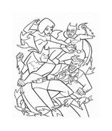 Justice league da colorare 3