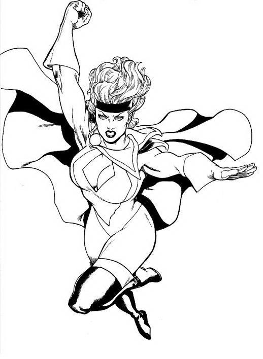 Justice league da colorare 7