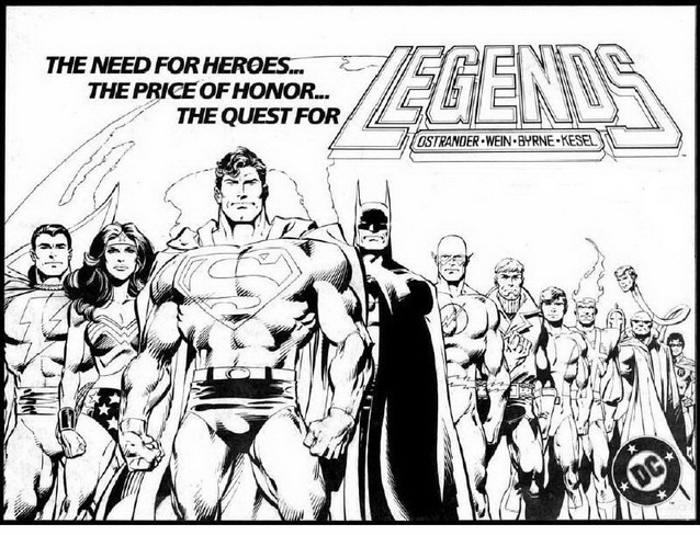 Justice league da colorare 8