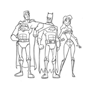 Justice League Da Colorare Disegnidacolorare It