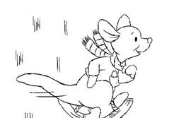 Winnie pooh da colorare 11