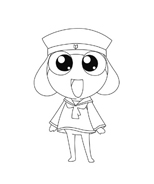 Keroro da colorare 6