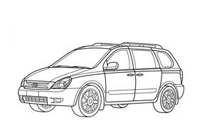Automobile da colorare 298