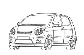 Automobile da colorare 301