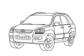 Automobile da colorare 303