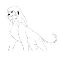 Kimba, il leone bianco da colorare 2