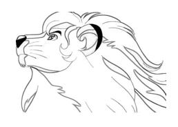 Kimba, il leone bianco da colorare 3