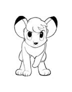 Kimba, il leone bianco da colorare 5